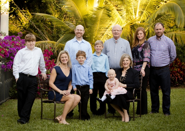 Jean and Bill Soman and Family, 2014